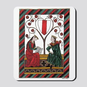 Manesse Codex Tafel 103 Mousepad