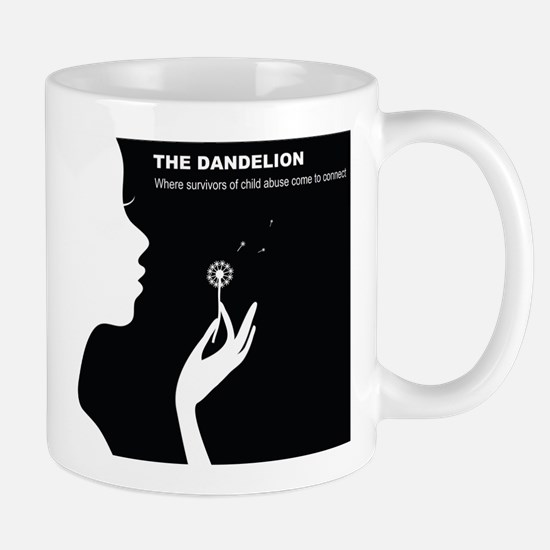 Original Dandelion Logo with Title Mug