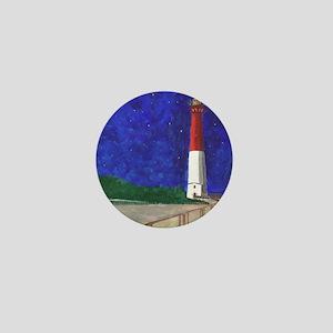 Old Barney Lighthouse Mini Button
