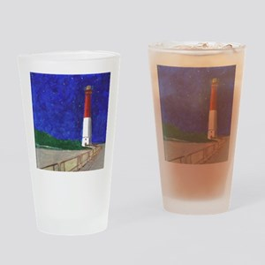 Old Barney Lighthouse Drinking Glass