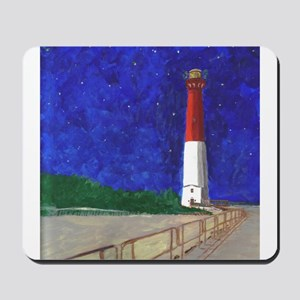 Old Barney Lighthouse Mousepad
