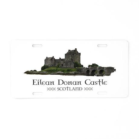 Eilean Donan Castle Aluminum License Plate