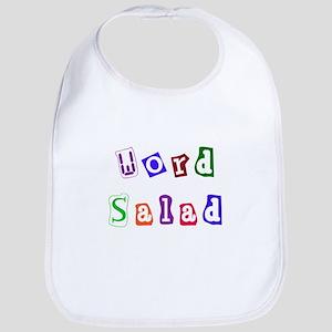 Word Salad Bib