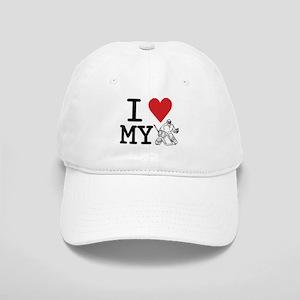 I Love My Goalie (hockey) Cap