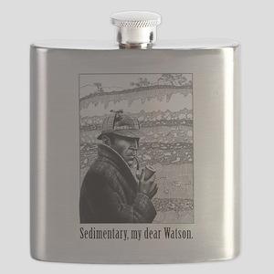 Sedimentary My Dear Watson Flask