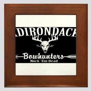 Adirondack Bow Hunters Inverted Framed Tile