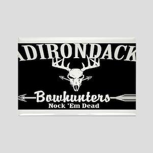 Adirondack Bow Hunters Inverted Rectangle Magnet