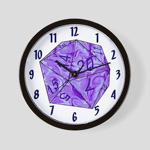 CGO d20 Wall Clock