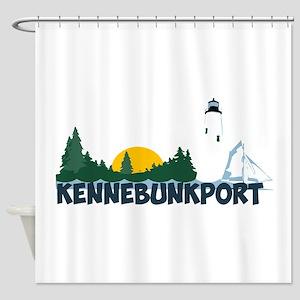 Kennebunkport ME - Beach Design. Shower Curtain