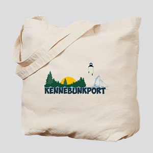 Kennebunkport ME - Beach Design. Tote Bag