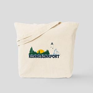 Kennebunkport ME - Beach Design. Tote Bag