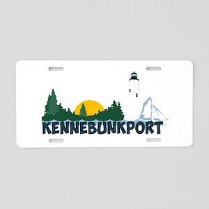 Kennebunkport ME - Beach Design. Aluminum License