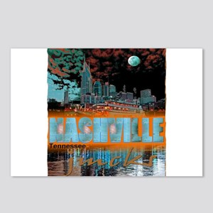 nashville tennessee art illustration Postcards (Pa
