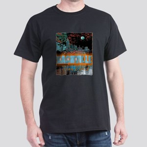 nashville tennessee art illustration Dark T-Shirt
