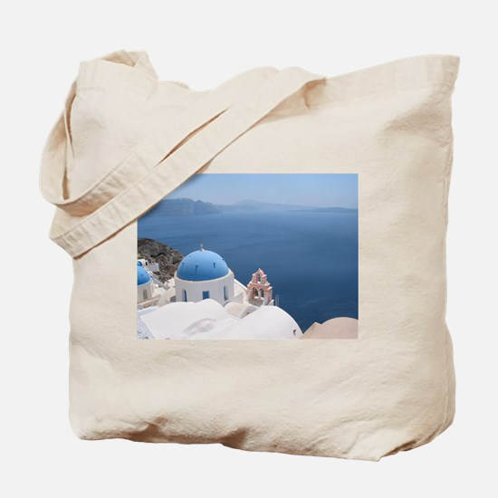 Santorini Tote Bag
