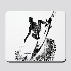 aSURFmoment bw #57 Mousepad