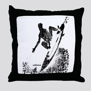 aSURFmoment bw #57 Throw Pillow