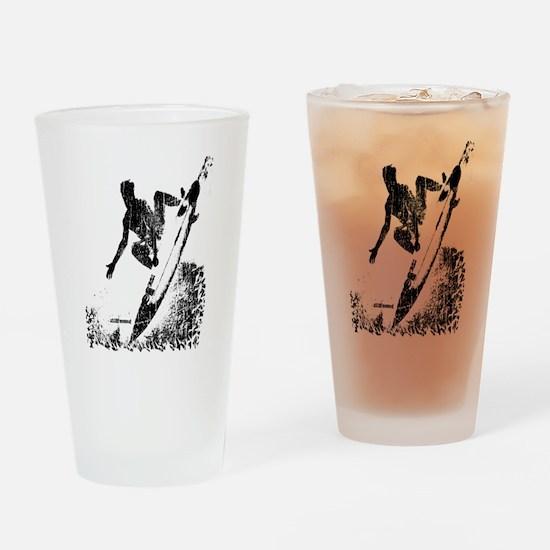 aSURFmoment bw #57.jpg Drinking Glass