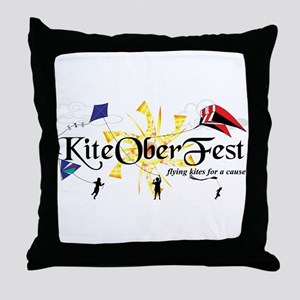 KiteOberFest Front Throw Pillow