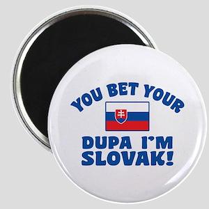 Funny Slovak Dupa Magnet