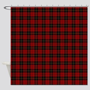 Wallace Scottish Tartan Shower Curtain