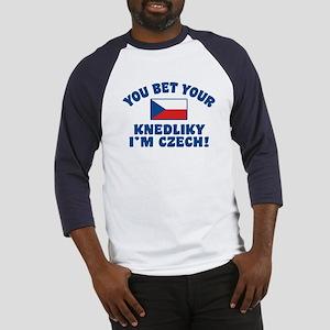 Funny Czech Knedliky Baseball Jersey