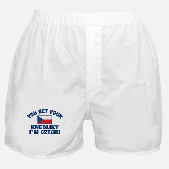 Funny Czech Knedliky Boxer Shorts