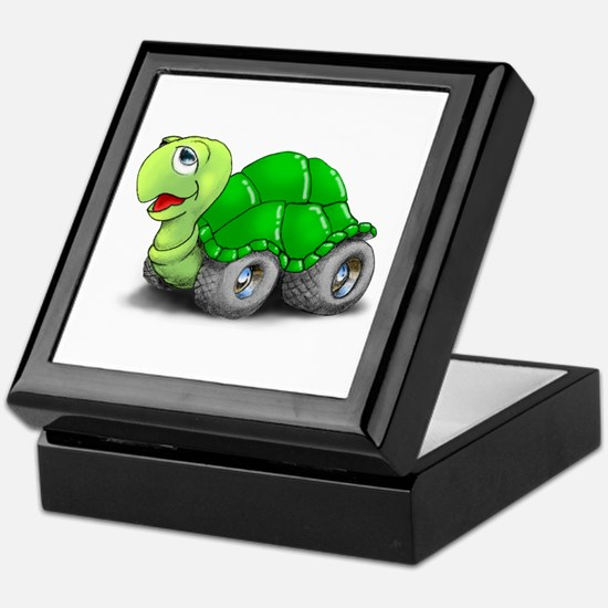 Speedy The Turtle Keepsake Box