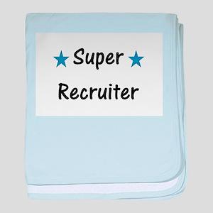 Super Recruiter baby blanket
