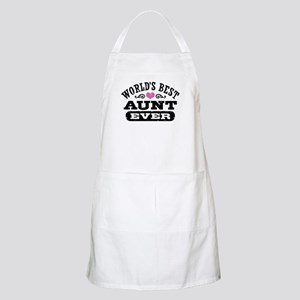 World's Best Aunt Ever Apron