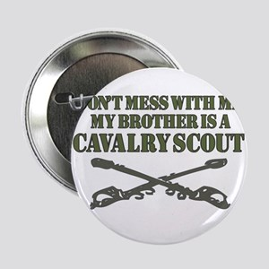"""Cavalry Scout 19D Brother support 2.25"""" Button"""