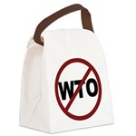3-No WTO Canvas Lunch Bag
