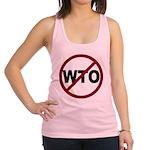 3-No WTO Racerback Tank Top
