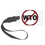 3-No WTO Large Luggage Tag