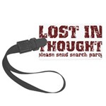 Lost in Thought II Large Luggage Tag