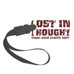 Lost in Thought II Small Luggage Tag