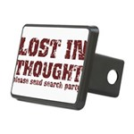 Lost in Thought II Rectangular Hitch Cover