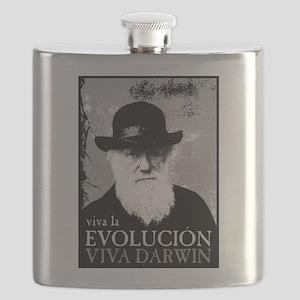Viva Old Man Darwin Flask