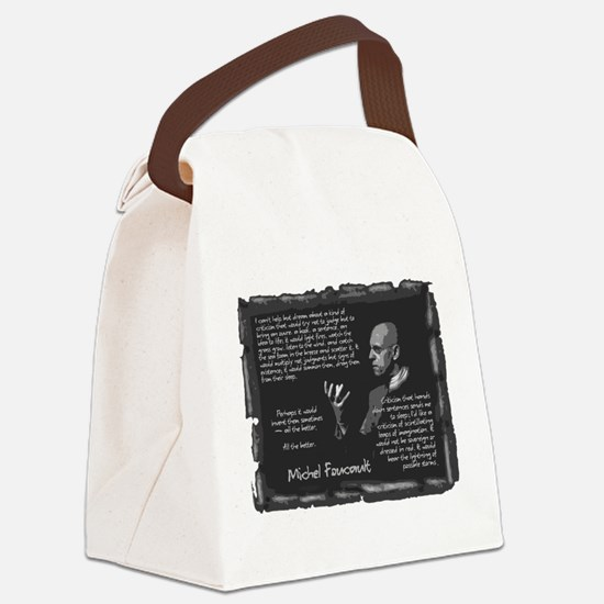 Foucault-Criticism-Posters.png Canvas Lunch Bag