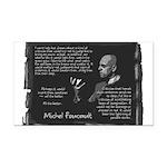 Foucault-Criticism-Posters Rectangle Car Magne