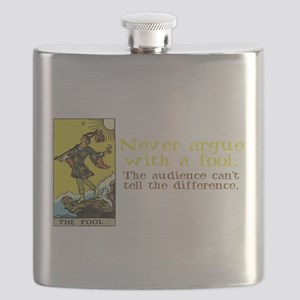 The Fool Argues Black-T Flask