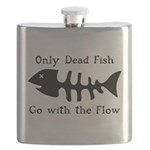 Only Dead Fish Flask