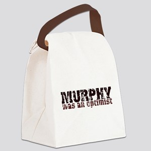 MurphyWasAnOptimist Canvas Lunch Bag