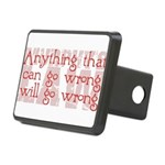 Murphy's Law Rectangular Hitch Cover