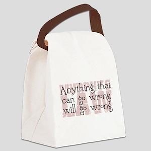 Murphy's Law II Canvas Lunch Bag
