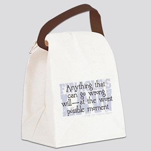 Finagle's Law Canvas Lunch Bag