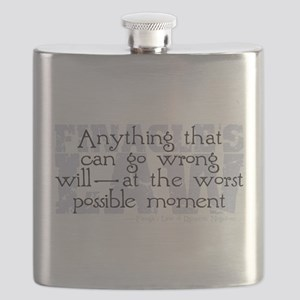 Finagle's Law Flask