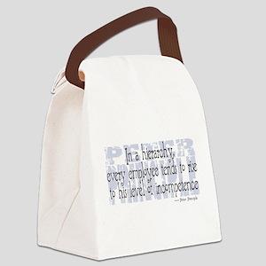 Peter Principle Canvas Lunch Bag
