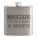 RELAX NOT EVEN Flask