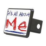 its all about me Rectangular Hitch Cover